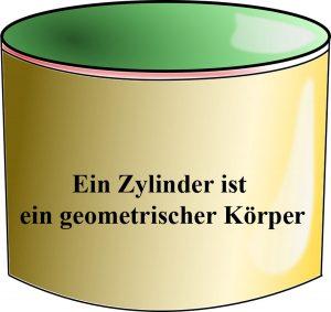 Formel für zylinder
